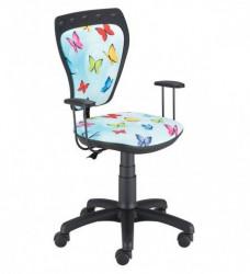 Dečija daktilo stolica Ministyle TS22 GTP28-BL sky-butterfly SH