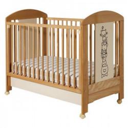 Dečiji krevetić lolek natur bež drugari fioka ( 601 )