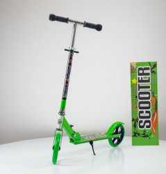 Dečiji Trotinet model 657 nosivost do 50kg - Zeleni