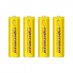 Esperanza EZA104Y punjive baterije AA 2000mah 4 kom zute