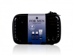 Essentials, set za putovanja, za muškarce, crna ( 550070 )