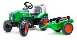 Falk Supercharger Traktor na pedale sa prikolicom 2021AB - Zeleni