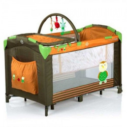 FreeON prenosivi krevetac narandžasto- braon ( 59625 )