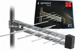 Gembird antena sa kutijom loga UHF sa RF-Konektorom, 20elemenata, duzina 39cm, 6dB alu 381 GMB-20E