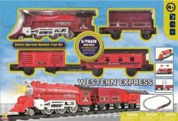 Goldlok Voz na baterije Western Express 3 vagona 103cm ( 0127522 )