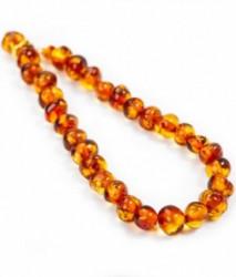Grunspecht ogrlica od ćilibara, 35cm boja konjak ( 3380000 )