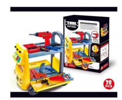 HK Mini igračka set kolica sa alatom ( A043140 )