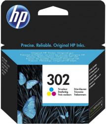 HP 302 Tri-color Ink Cartridge F6U65AE ( Z49302C )
