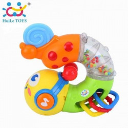 HuiLeToys Muzička igračka Twisting worm 6+ m. ( HT917 )
