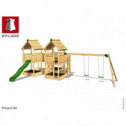 Hy-Land Javno igralište - Projekat 8 sa ljuljaškama