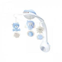 Infantino 3u1 muzička vrteška, projektor i noćno svetlo plava ( 22115023 )