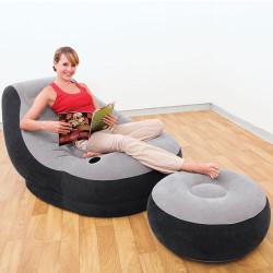 Intex Ultra Lounge fotelja na naduvavanje sa tabureom ( 68564 )