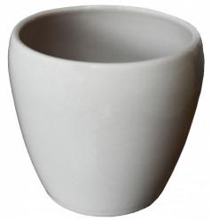 Kerbek saksija tarifa 13.5cm glazura kapućino ( KE G58/135/009 )