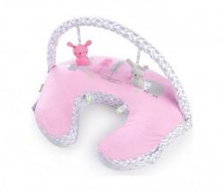 Kids II jastuk plenti+ nursing pillow + toy bar - fairytale story ( SKU11823 )