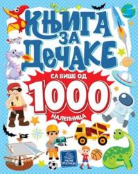 Knjiga za dečake sa više od 1000 nalepnica ( 872 )