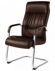 Konferencijska stolica B16 od eko kože - Braon