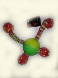 Kozmo FS 0008 gumena lopta sa kracima ( KZ44136 )
