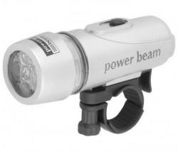 Lampa prednja JY-808 4 funkcije 5 LED silver ( 190082 )