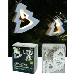 LED drveni borići 5,8x5,2 cm, ( 52-586000 )