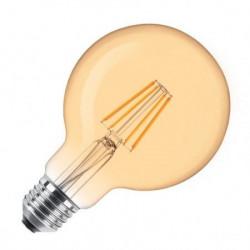 LED filament sijalica dimabilna toplo bela 6W ( LS-G80FDA-WW-E27/6 )