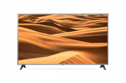 """LG 75UM7000 LED TV 75"""" Ultra HD, WebOS ThinQ AI, Black, Two-point stand"""