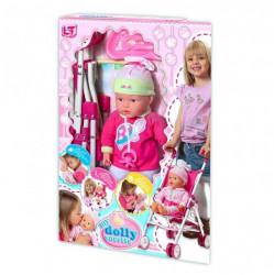 Loko toys lutka beba sa kolicima 37 cm ( 6240650 )