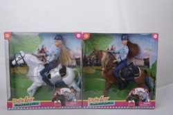 Lutka Defa na konju u policijskoj uniformi ( 27/8420 )