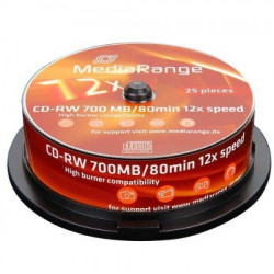 MediaRange MR235-25 CD-RW 700MB/12X ( 377M25/Z )