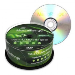 MediaRange MR444 DVD-R 4.7GB 16X ( 556M5/Z )