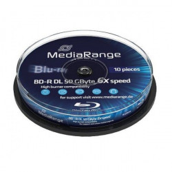 MediaRange MR507 BLU-RAY 50GB DL BD-R 6X ( 5250MRSP/Z )