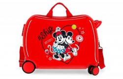 Minnie & Mickey ABS kofer za decu crvena ( 44.998.22 )