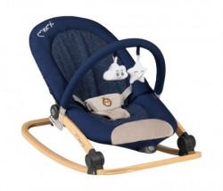 Momi lumiwood lezaljka za bebe navy blue ( BULE00008 )