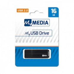 Mymedia USB FLASH MEMORIJE 16GB FLASH DRIVE 2.0 BLACK ( UFMM69261 )