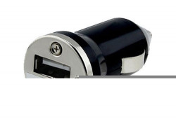 N/A Auto punjač USB 1A E-11 crni ( 00-001 )