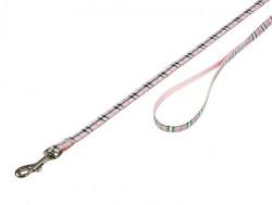 Nobby 78202-15 Povodac za pse karo roze 10mm 120cm ( NB78202-15 )