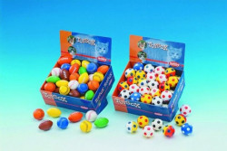 Nobby 80113 Igračka za mace gumena fudbal loptica 4cm ( NB80113 )
