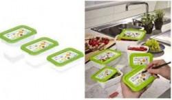 OKT Posuda za hranu 3u1 Memory piši-briši 0.5L+0,75L+1L ( OKT-687 )