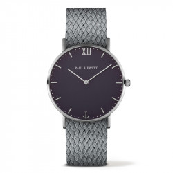 Paul Hewitt Sailor Line Plavi Srebrni ručni sat sa sivim perlon kaišem