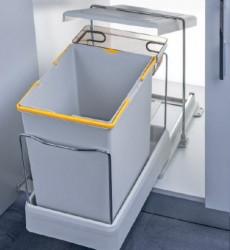 Pelikan Kanta za otpatke sa automatskim otvaranjem i plastičnom bazom, svetlo siva, 20 + 1l ( 21500 )
