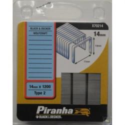 Piranha X70214 Klamerica BD 14mm x 1200