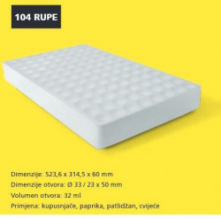 Plastform kontejner stiroporski tip 104 ( 023183 )