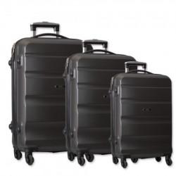 Porto, kofer, set 3 komada, ABS, siva ( 100096 )