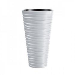 Prosperplast saksija sand slim 40x75cm bela ( PR DPSA400-S449 )