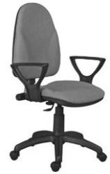 Radna stolica - BRAVO LX ergonomsko sedište i naslon (štof u više boja)
