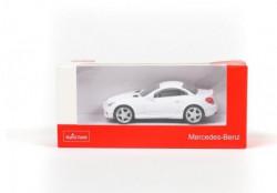 Rastar automobil Mercedes SLK 1:43 - bela ( A013519 )