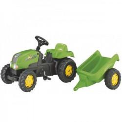 Rolly Toys Traktor Kid-X sa prikolicom zeleni ( 012169 )
