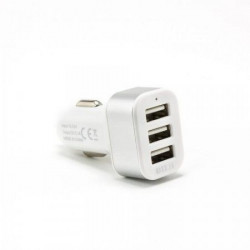 S BOX CC - 331 2.1A White Car USB Charger
