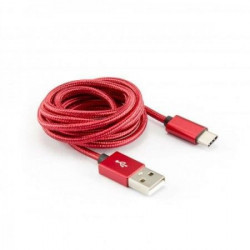S BOX Kabl USB A - Type C 90 1 5 m Red