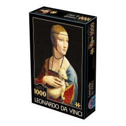Slagalica x 1000 Leonardo Da Vinci 02 ( 07/72689-02 )