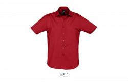SOL'S broadway muška košulja sa kratkim rukavima crvena L ( 317.030.25.L )